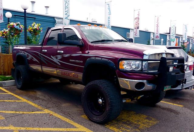 lift diesel dodge redneck ram 2500 hick