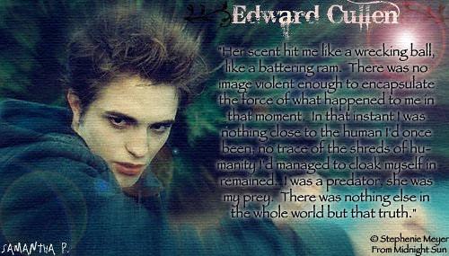Edward Cullen by flickerbitches.