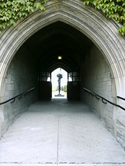 Entrance to the Hart House Courtyard