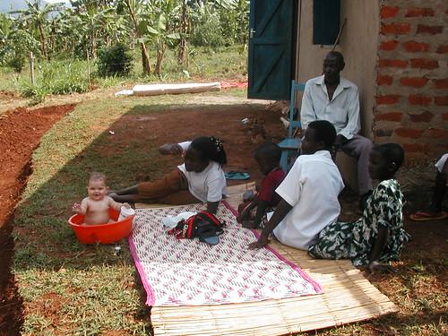 Lauren in Uganda (2002)