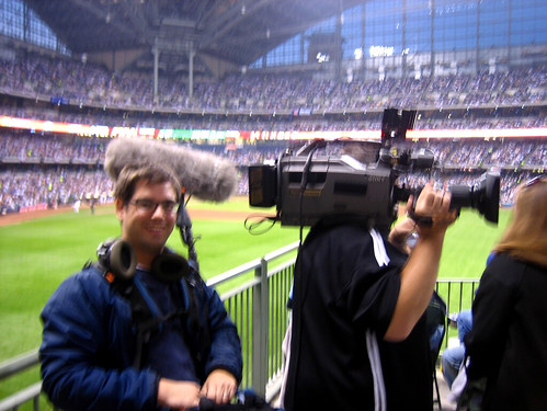 Working at Miller Park