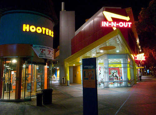 Hooters & In-N-Out Burger