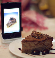 .* Yummy *. (Doue ) Tags: cake recipe yummy ipod chocolate chocolates cheesecake special cocoa ferrerorocher itouch mywinners purepoison