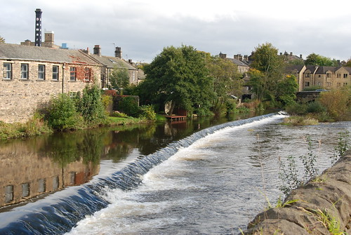 the town centre. Aire. Bingley