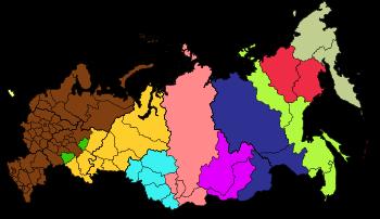 carte russie fuseaux horaires