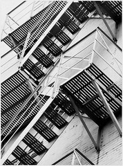 Fire Escape Stairs (scilit) Tags: blackandwhite building metal architecture stairs fire perception downtown memphis safety fireescape flickrsbest passionphotography mywinners blackwhiteaward citrit flickrsilveraward iwishidtakenthat damniwishidtakenthat thebeautifulimagetop umbralaward