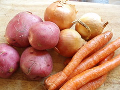 Vegetables for Subprime Steak on OneBigKitchen.com