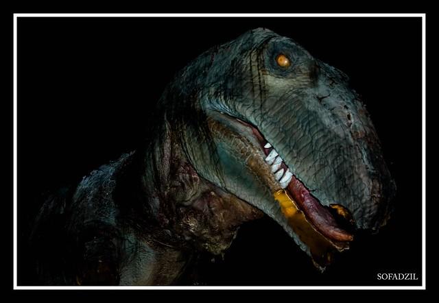 T-Rex in Gillman