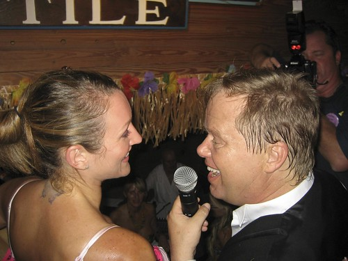 Hogsbreath Homemade Bikini Contest 2008. Interview after the contest.