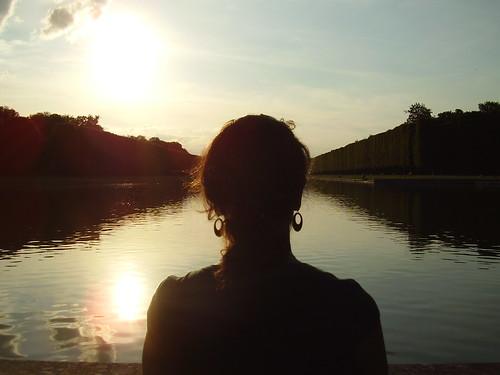 versailles sunset