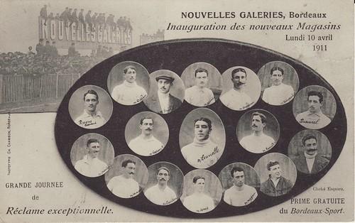 Bordeaux Champion de France 1911 par Frederic Humbert (www.rugby-pioneers.com)