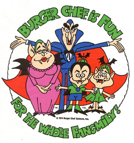Burger Chef Vampire Bib