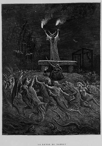 010- La Danza del Sabbat- P. Christian. Histoire de la Magie 1884