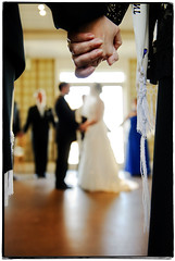 Circle of Love (Ryan Brenizer) Tags: wedding newyork love groom bride hands nikon bokeh noflash upstatenewyork d3 garrison ketubah jewishwedding weddingphotojournalism ketubahsigning thegarrison 2470mmf28g