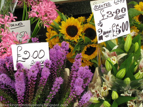 flowers on the market
