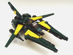 TX-222 Dragonwing (peterlmorris) Tags: toy fighter lego ellis moc starfighter gradius vicviper foitsop novvember