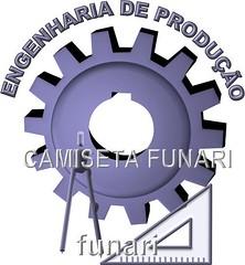 Desenho simbolo logo engenharia produção