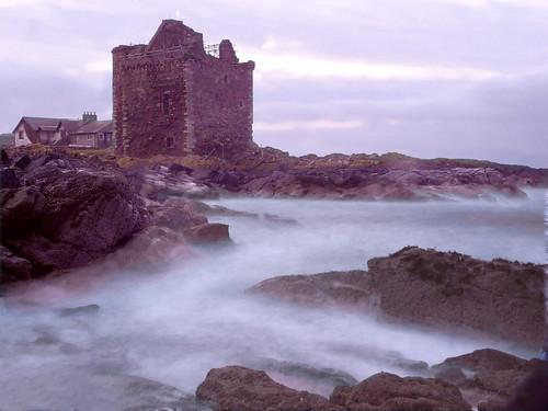 Early morning at Portencross Castle 15Nov08