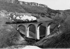 Viaduc dans les monts de Revigny