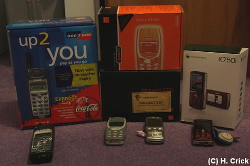 Mobile phones boxes-450D