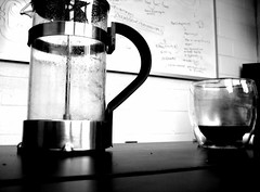 Fuel (shonk) Tags: bw coffee whiteboard math camerabag iphone
