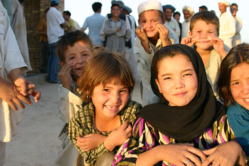Children from Turkmenistan
