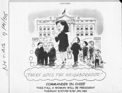 comics ad - Commander in Chief - NYT 05-09-10