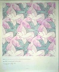 E28 (npgraphicdesign) Tags: symmetry escher tessellation mcescher