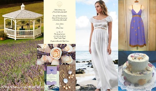 Island wedding clothing