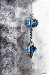 Silver and Blue - hope this will charm you :) (Ingrid Douglas Images - ART in Photography) Tags: christmas ingrid oz images textures christmasdecorations douglas crimbo yuletime explored perfectoarts ingriddouglas