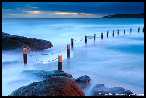 Mahon Tidal Pool, Maroubra Beach, Sydney, NSW, Australia by Ilya Genkin