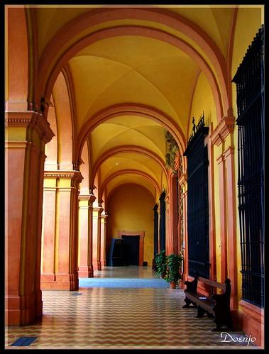 Reales Alcázares de Sevilla (Patio del Crucero )