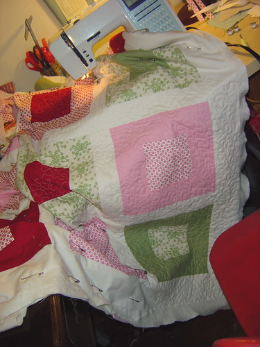 Quilting Baby girl quilt top