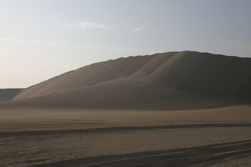 Sand dunes near Casma, Peru.