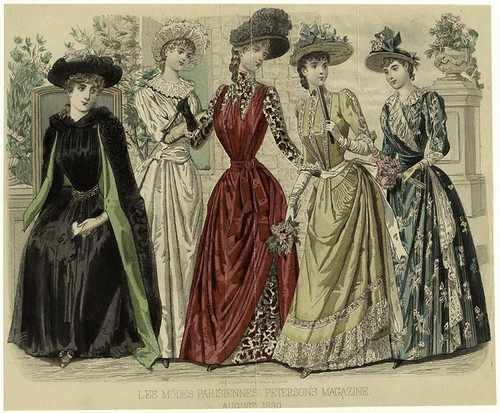 004- Les Modes parisiennes 1890