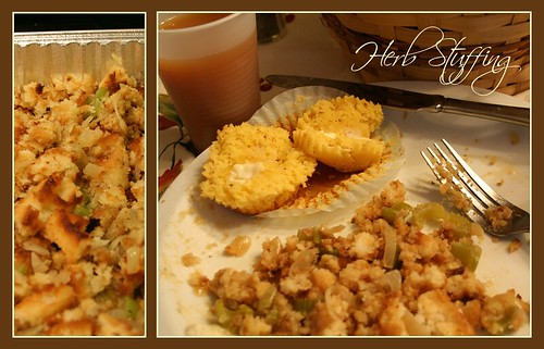 Life of Sugar and Spice: Gluten Free Herbed Bread Stuffing