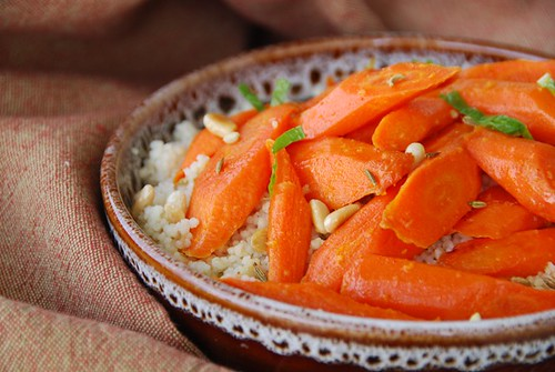 Moroccan Carrots and Couscous