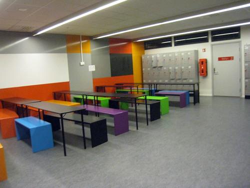 Salle d'accueil des groupes