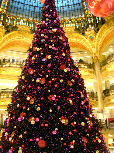 christmas tree galeries lafayette paris 2008