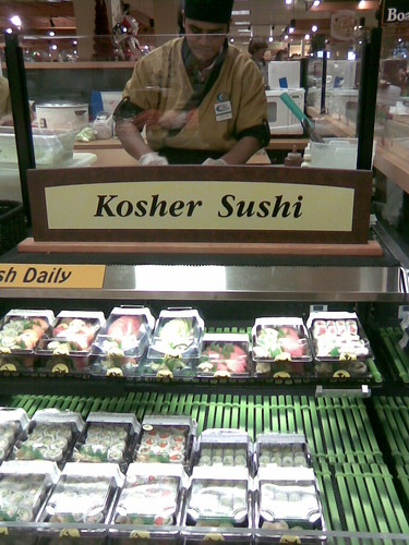 Kosher Sushi at QFC