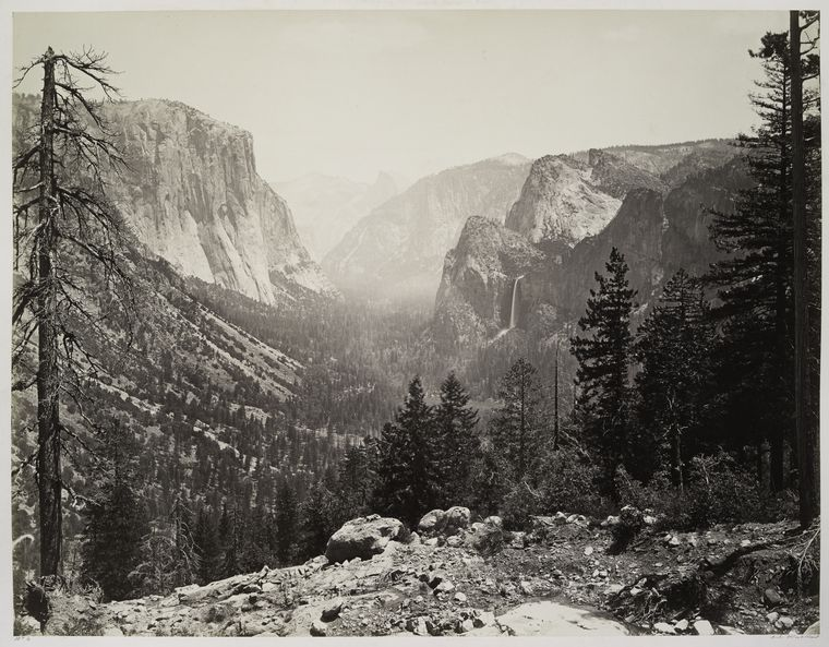 The Yosemite Valley from Inspiration Point.