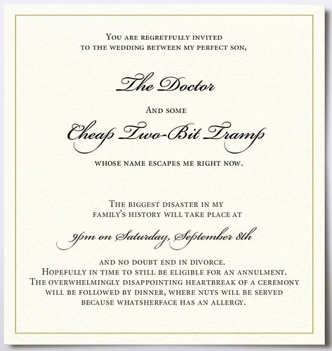 worst wedding invitation