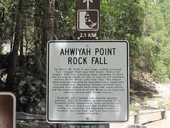 Ahwiyah Point Rock Fall (nipotan) Tags: california nationalpark yosemite yosemitenationalpark  ahwiyahpoint