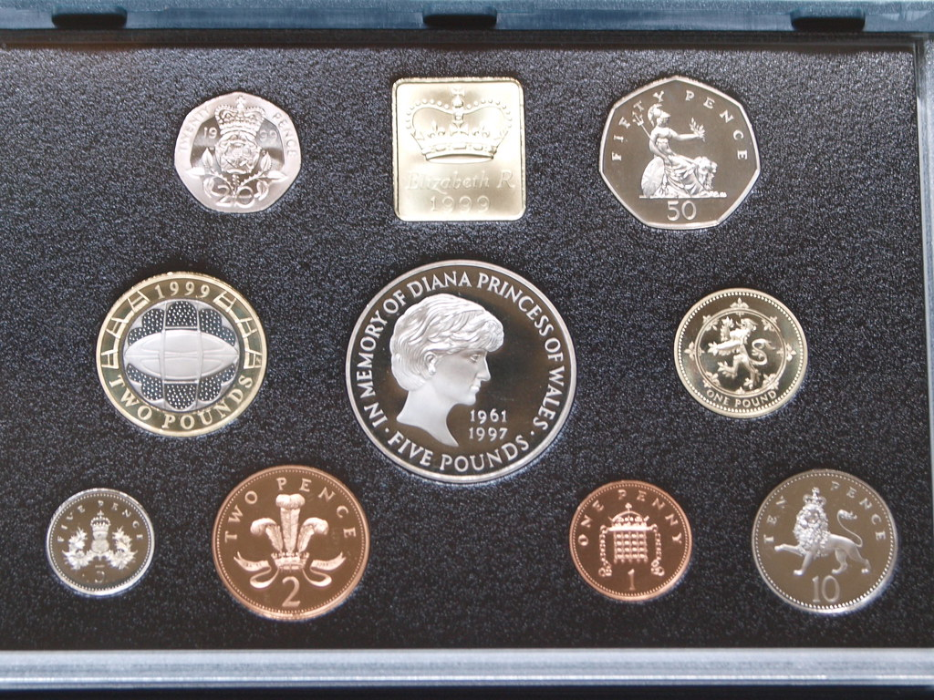 1999 UK Proof Coin Set