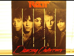 1986 - Ratt Dancing Undercover (Autographed by Stephen Pearcy)