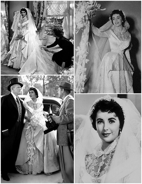 Helen Rose, Elizabeth Taylor, Father of the Bride, 1950's bride, vintage wedding