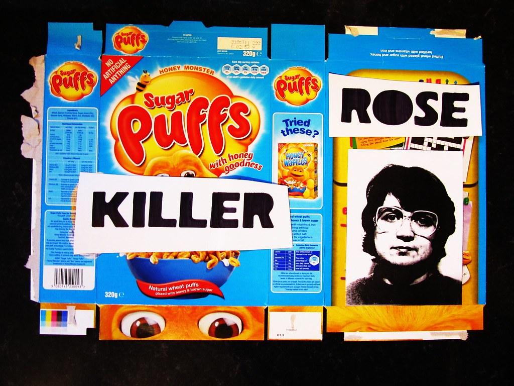 cereal box serial killer rose west