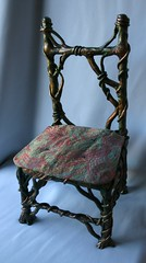 Twiny, viny chair (susie_mcmahon) Tags: chair aves brocade apoxiesculpt