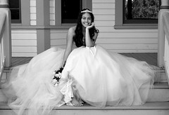 Quinceanera (Alexandria LaNier) Tags: portrait feet beautiful beauty smile rose youth fun princess bare teen tradition gown timeless quinceanera alexandrialanier