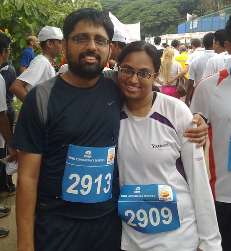 Vasu and Me, after the 10K